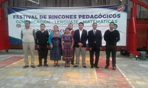 Apertura del Festival de Rincón Pedagógico en el Municipio de Totonicapán, Municipalidad, DIDEDUC y Gobernación 12/07/2017