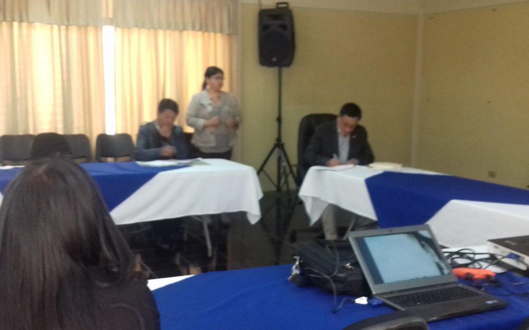 Participación en la Reunión de CODESAN Totonicapán