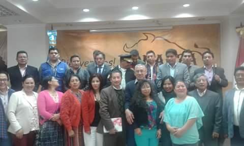 Presentación de Propuestas Interinstitucional para Fortalecer el Sector Justicia en el Departamento de Totonicapán